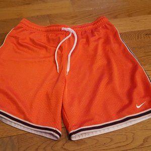 nike orange ball shorts sz S NWOT
